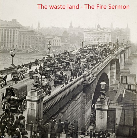 the waste land- the fire sermon bengali translate summary