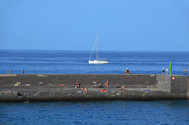 December in Puerto de la Cruz, Tenerife