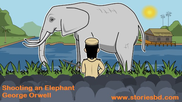 shooting an elephant by george orwell bangla translation and word meaning