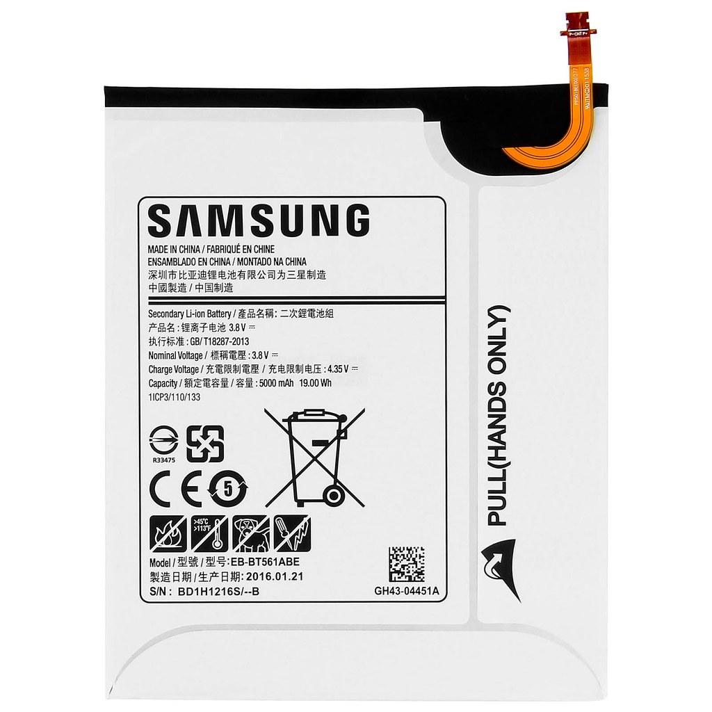 Original Samsung Eb Bt561abe Akku Fur Samsung Galaxy Tab E Flickr
