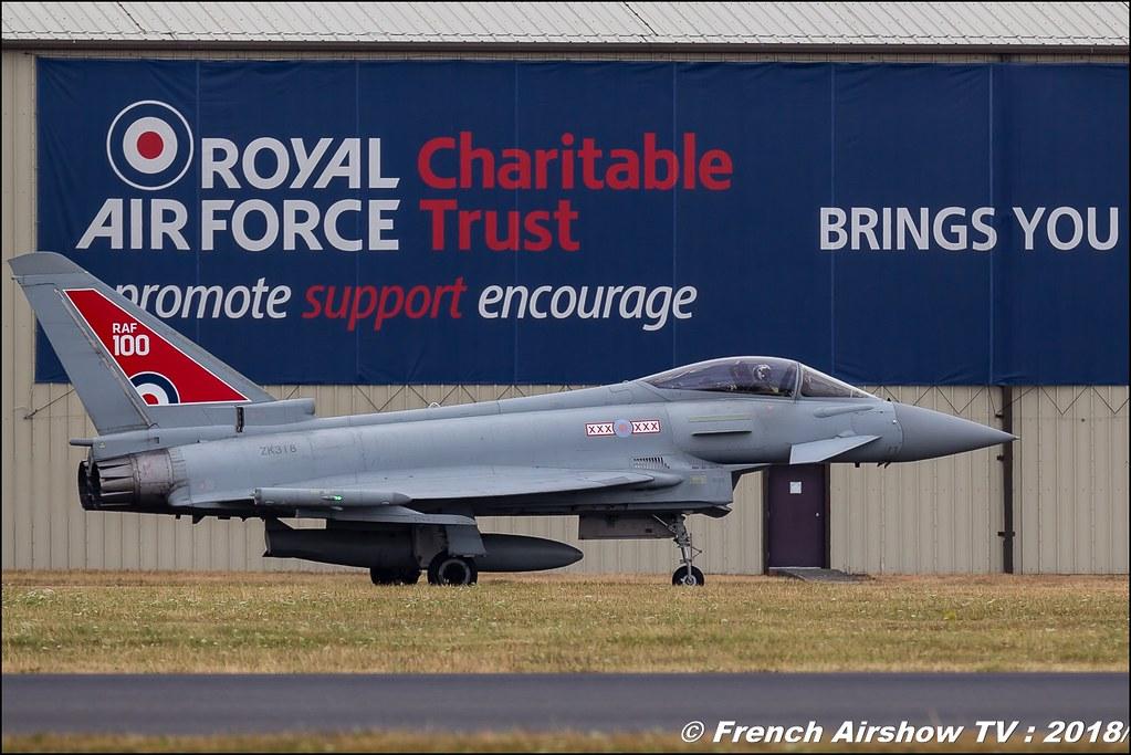 Eurofighter Typhoon RAF100 RIAT 2018 - Royal International Air Tattoo RAF Fairford Royaume-Uni Canon Sigma France contemporary lens Meeting Aerien 2018