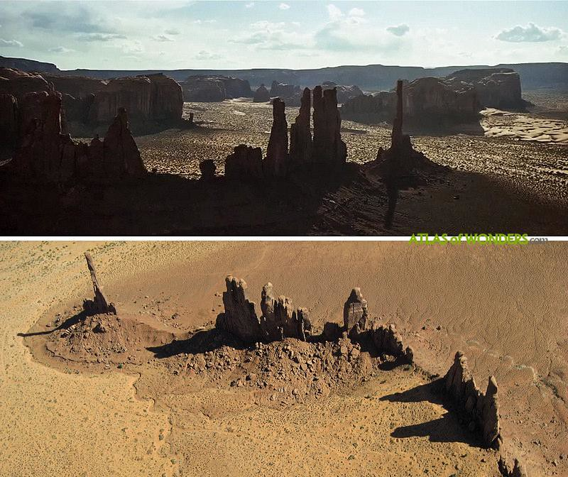 The Lone Ranger Filming locations