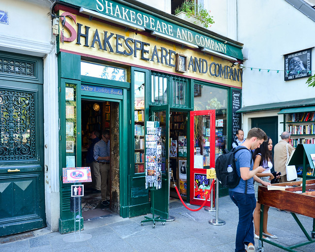 Librería Shakespeare and Co de París
