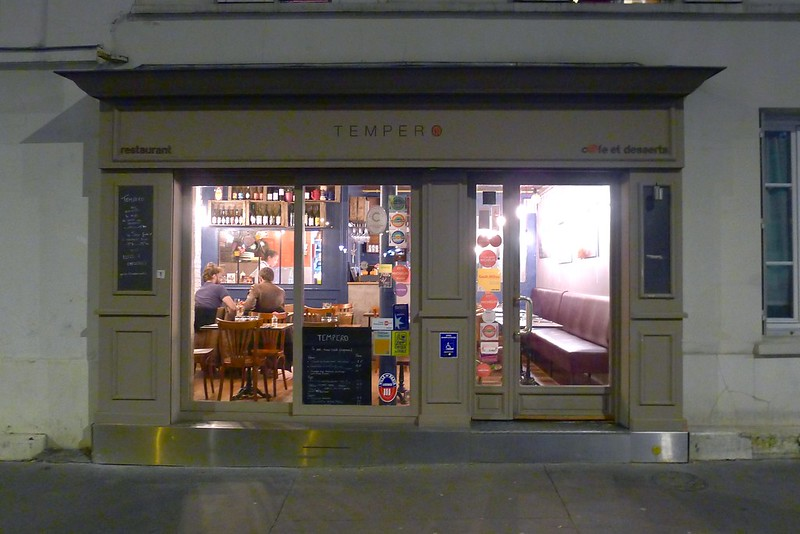 Restaurant Tempero, Paris