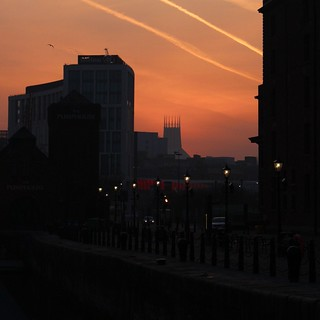 dusk lit Liverpool | by Towner Images
