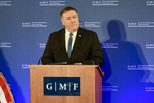 Secretary Pompeo Delivers Remarks at the German Marshall Fund in Brussels, Belgium | by U.S. Department of State