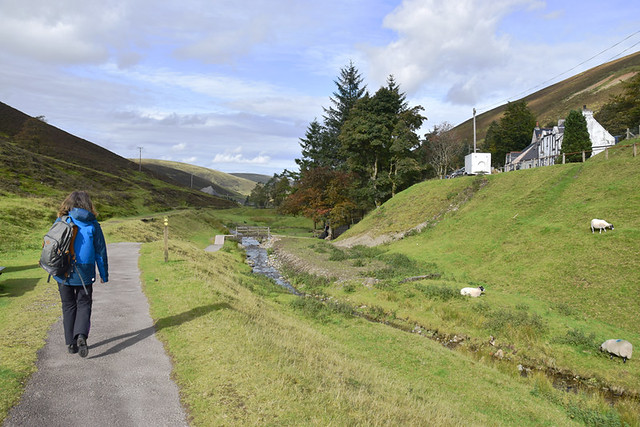 Wanlockhead village, Scotland