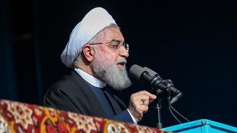 伊朗總統羅哈尼。(圖片來源:AFP)