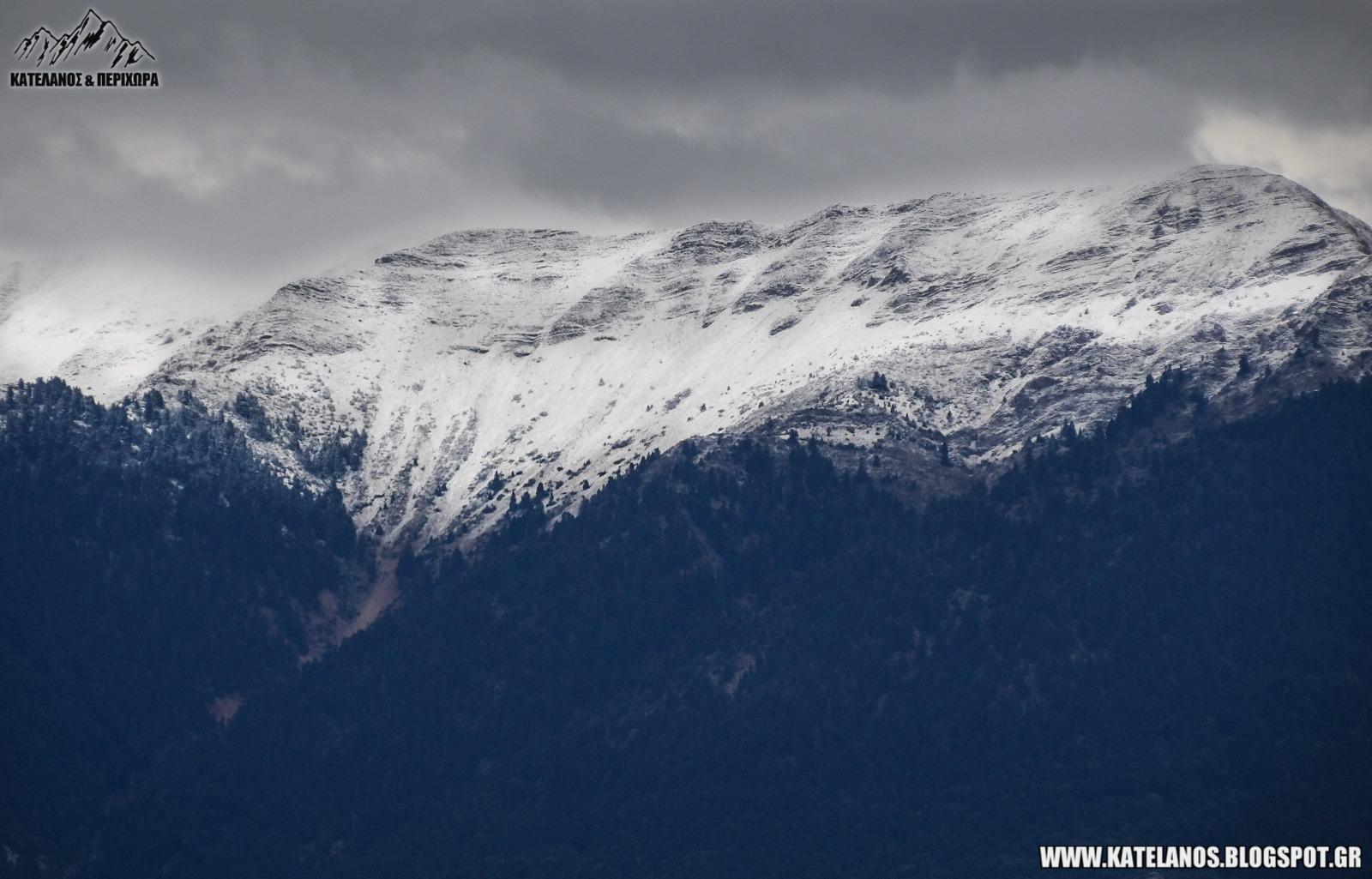 κορυφη βγενα ζυγος πρωτα χιονια παναιτωλικο