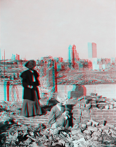 Searching for Belongings in the Rubble - San Francisco Earthquake - 1906 | by civilwar3dhighdefwidescreen