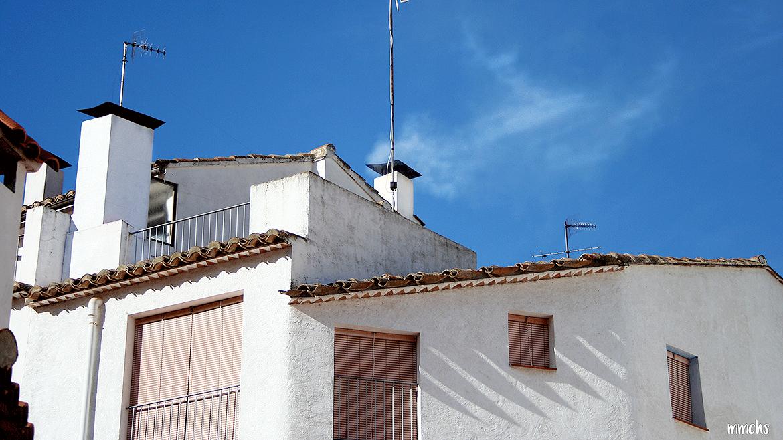 Aín pueblo de montaña en Castellón