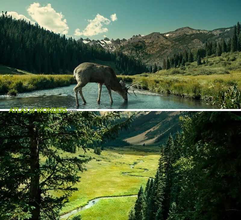 Ballad of Buster Scruggs shooting location