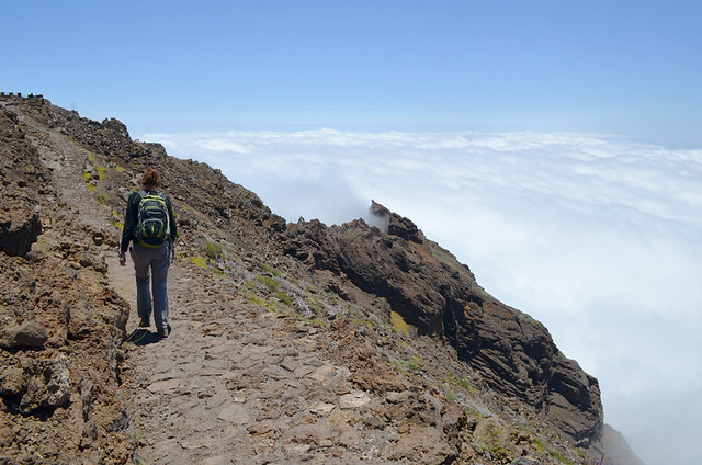 Walking on La Palma, Spain