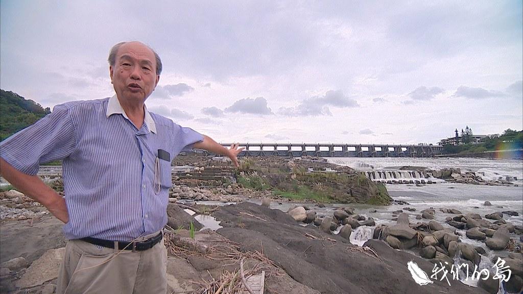 長年關心大甲溪的張豐年醫師,認為拆除集集攔河壩才能釋放大甲溪。