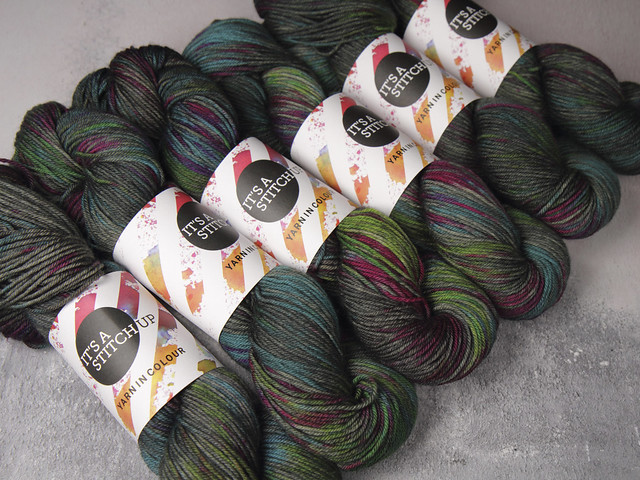 Sweater Pack: Dynamite DK pure British wool yarn 6 x 100g – 'Space Race'