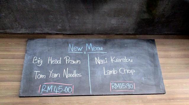New on their menu
