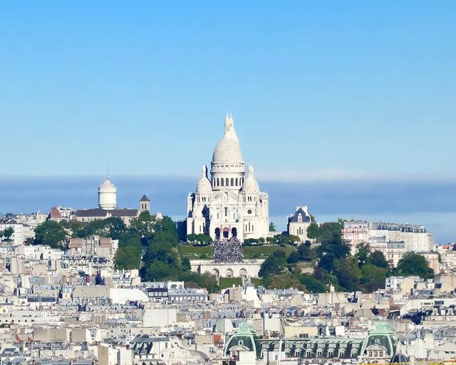 Sacre Coeur desde Notre Dame