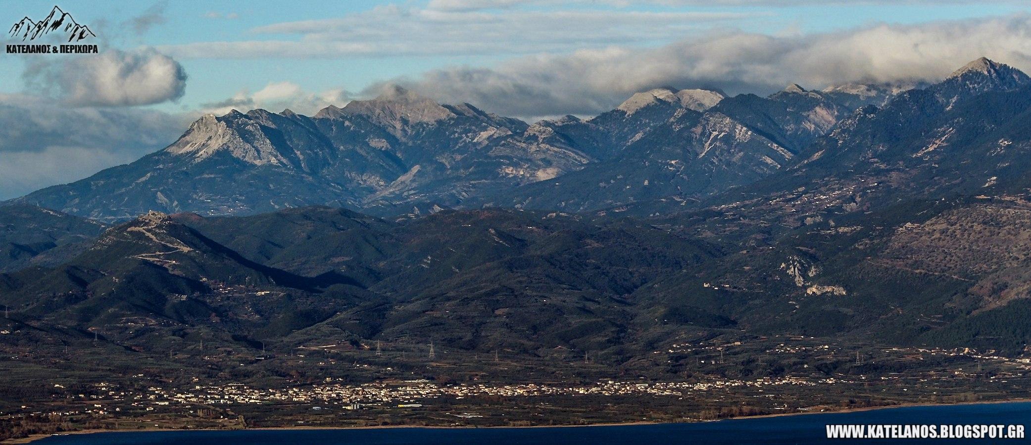 καινουριο αγρινίου αιτωλοακαρνανίας παναιτωλικό όρος οροσειρά κορυφές