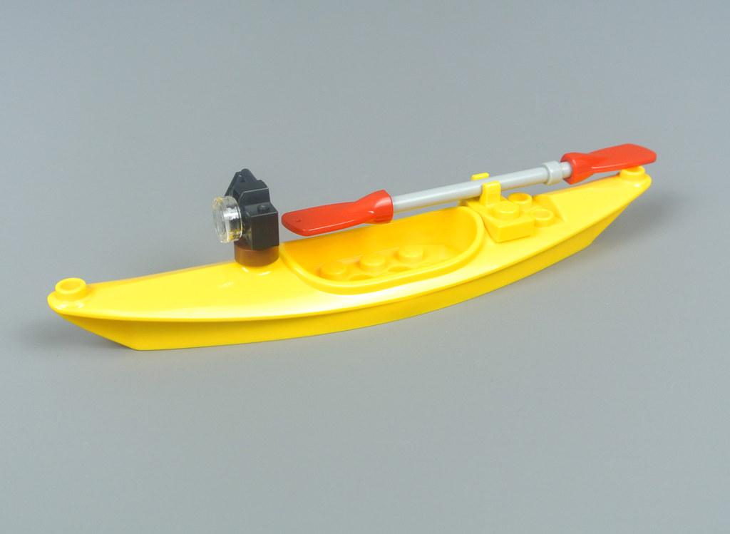 Lego New Yellow Boat Kayak Piece