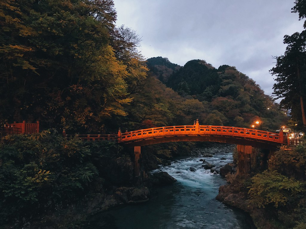 Fall Foliage in Nikko, Japan