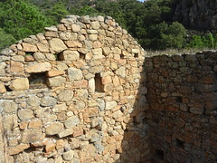 Ghjaducci : l'intérieur du moulin