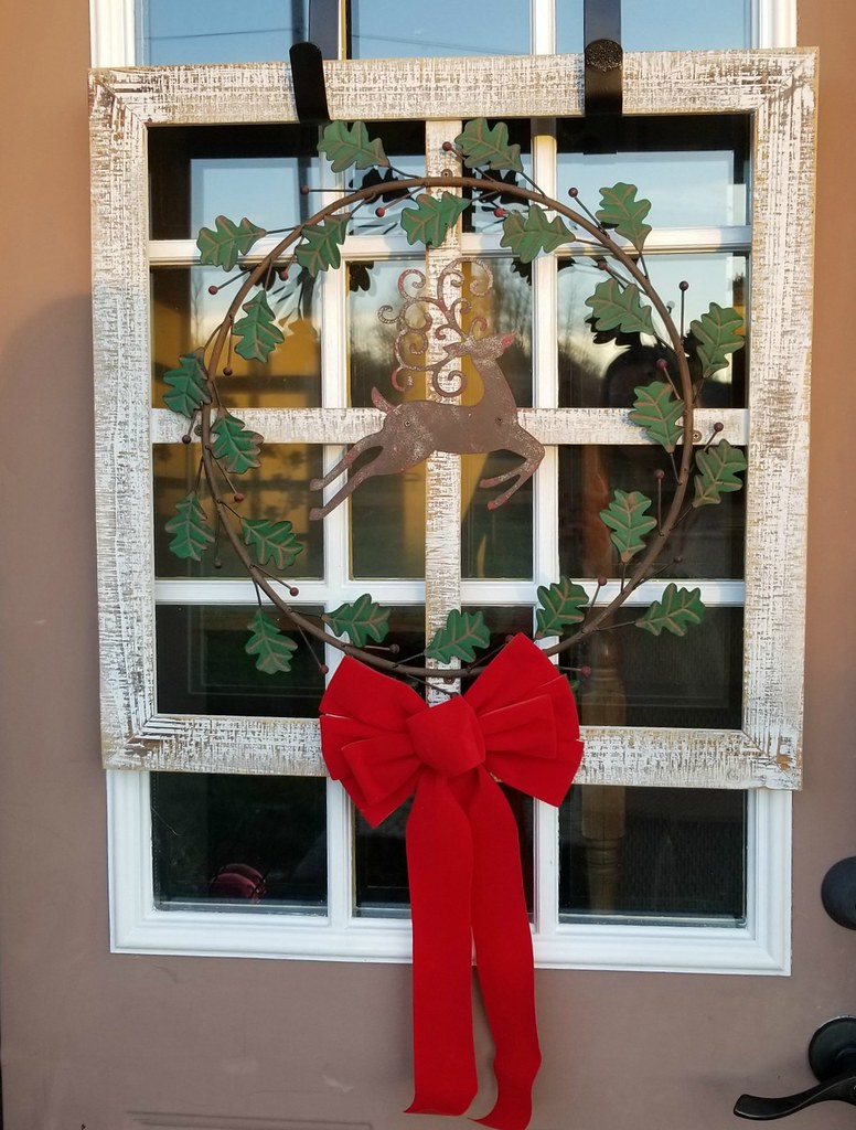 window frame wreath
