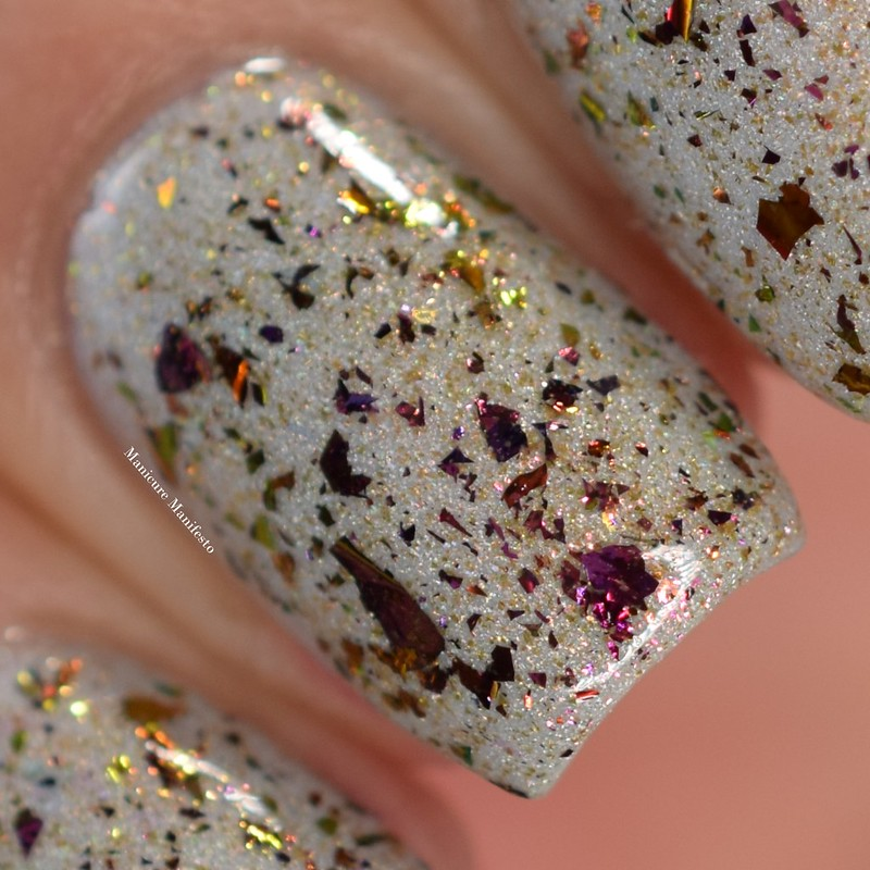 Girly Bits Flickering Forest swatch