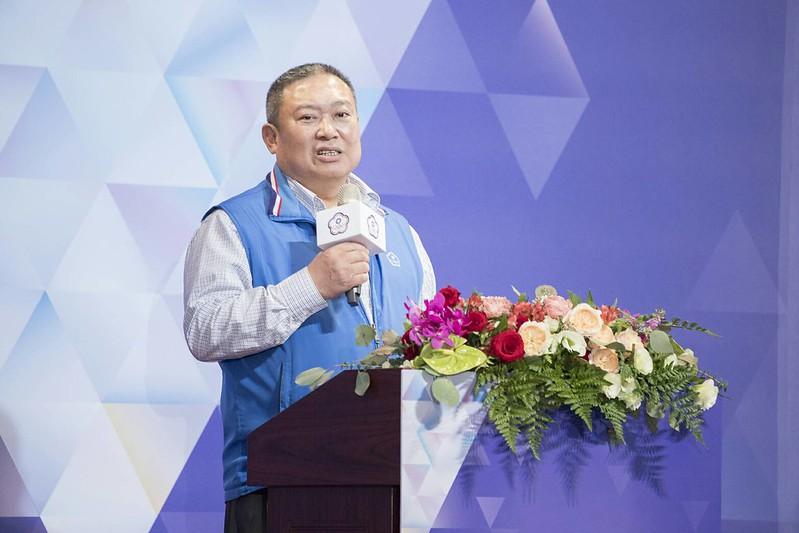 中華奧會主席林鴻道。(中華奧會提供)