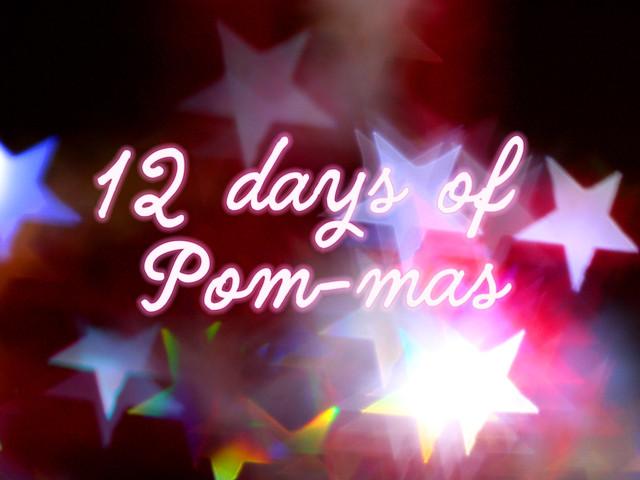 Preorder: 12 Days of Pom-mas Box – Pomp and Poms shawl kit with pattern, yarn, pompom maker