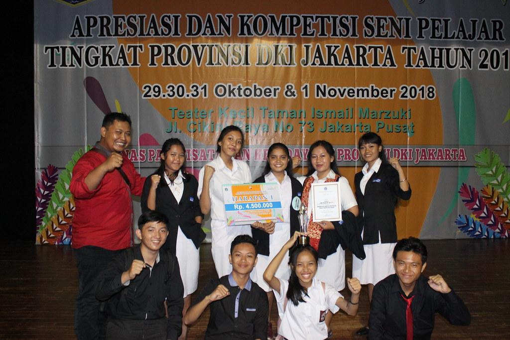 SMK Strada 3 Juara Harapan I Lomba Musikalisasi Puisi