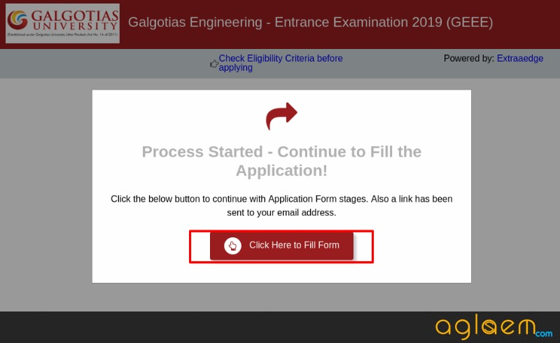 GEEE 2020 Application Form