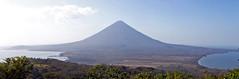Volcán Concepción desde el Volcán Maderas