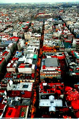 Zocalo from the sky