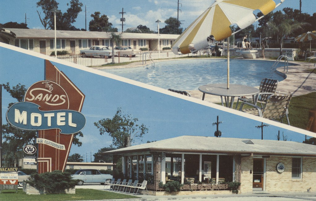 The Sands Motel - New Orleans, Louisiana
