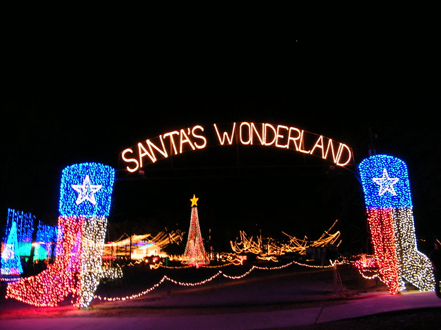 Santa s wonderland a local tradition used to be driving