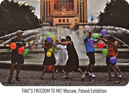[ THAT'S FREEDOM TO ME! - Outdoor Photography Exhibition ] THE BEAUTY OF FUN KNOWS NO BORDERS in Warsaw, Poland | by || UggBoy♥UggGirl || PHOTO || WORLD || TRAVEL ||