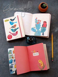 Pocket Planner Giveaway | by Geninne