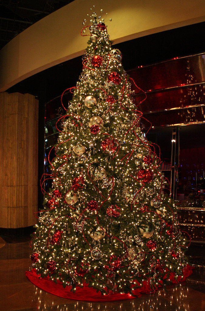 Mgm Grand Las Vegas Christmas Tree Mary Flickr