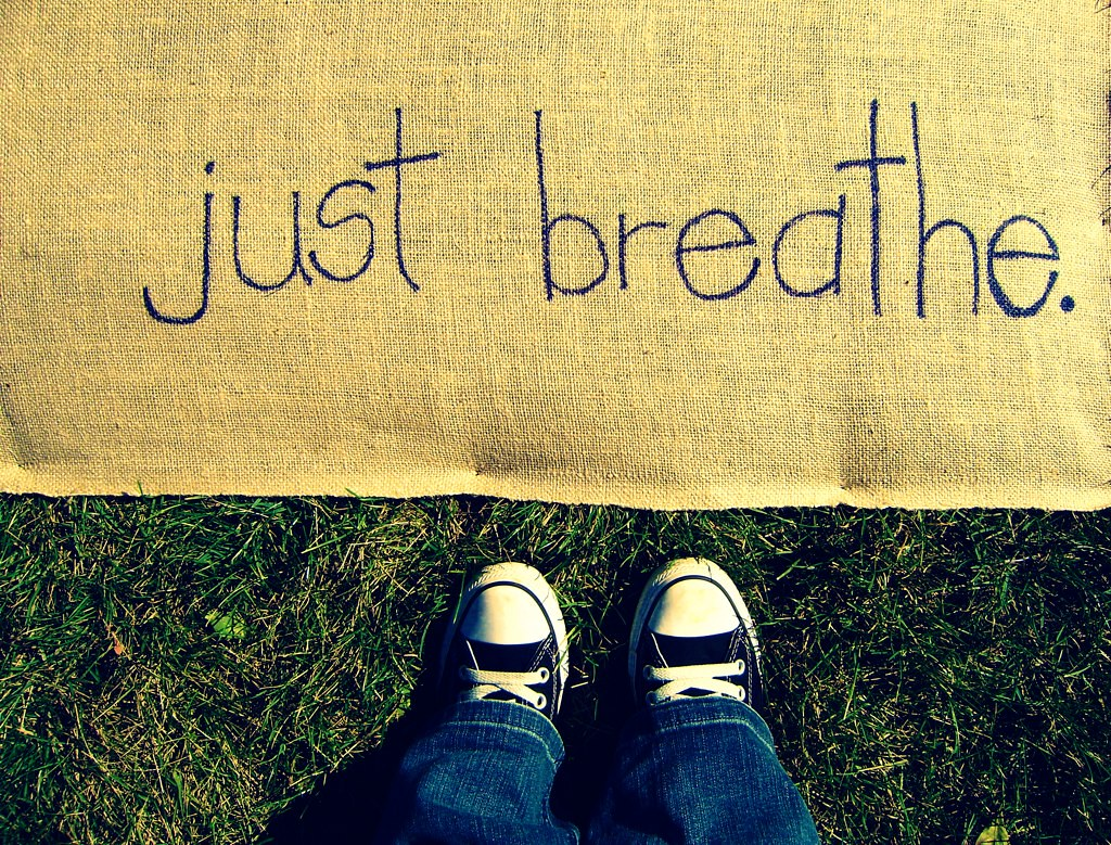 Breathing exercises can be practiced no matter where you are or what you're doing.