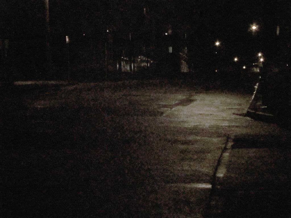 Dark Empty Street
