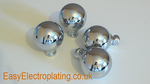Chrome Plated Victorian Bed Knobs | by EasyElectroplating