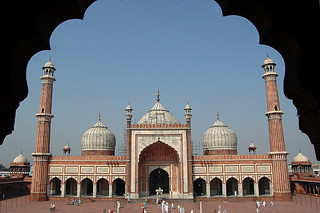 Jama Masjid, Delhi - Arches, minarets and domes | by Tumkur Ameen