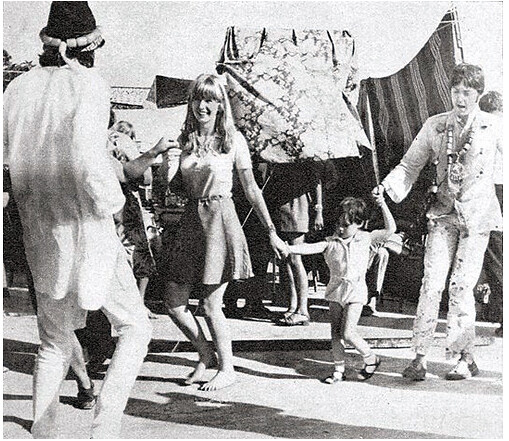 Paul McCartney And Julian Lennon
