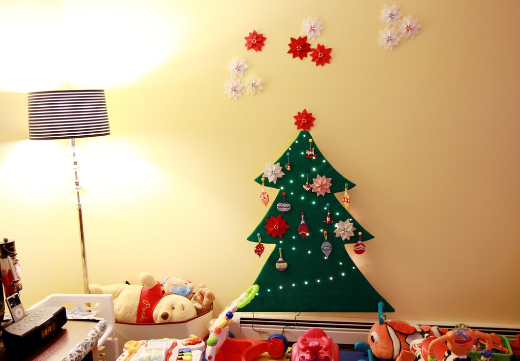 tranquilityknots toddler safe 2 d felt christmas tree by tranquilityknots