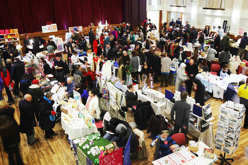 Shoppers at the Christmas market at Stoke Newington Town Hall | by Hackney Council