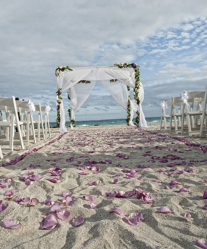 Beachfront Wedding | by thepalmshotel