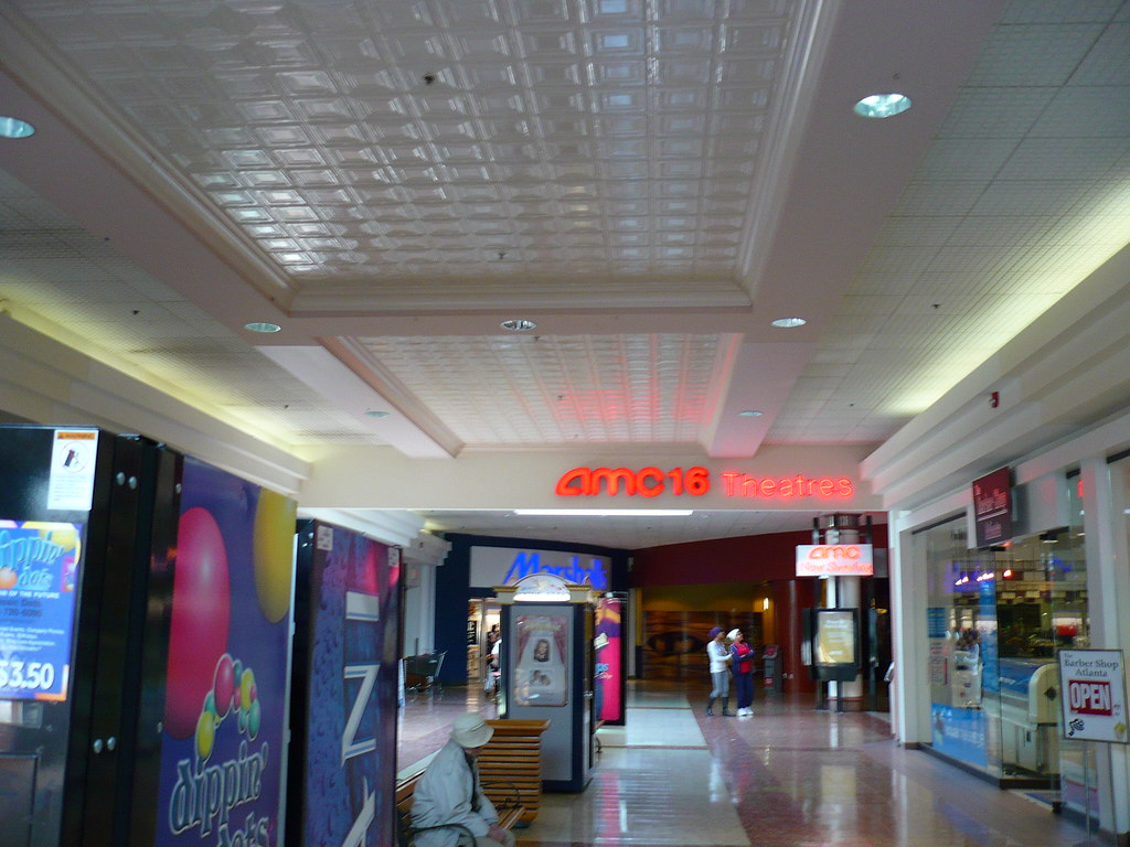 North Dekalb Mall Inside View Of Theatre Entrance Jonathan Barber