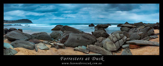 Forresters at Dusk Panoramic | by Leanne DOROSZUK