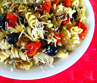Roasted Fennel, Zucchini and Tomato Pasta | by CinnamonKitchn