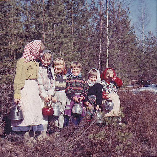 Easter witches Påskkärringar Ydrehammar 1964 | by Ankar60